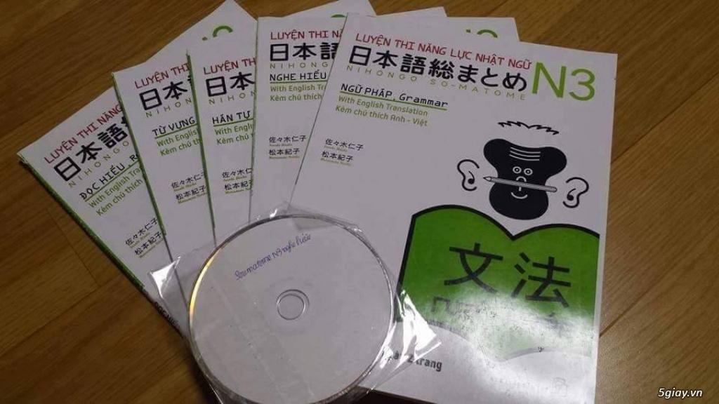 Bộ sách tiếng Nhật Somatome N3 | 5giay