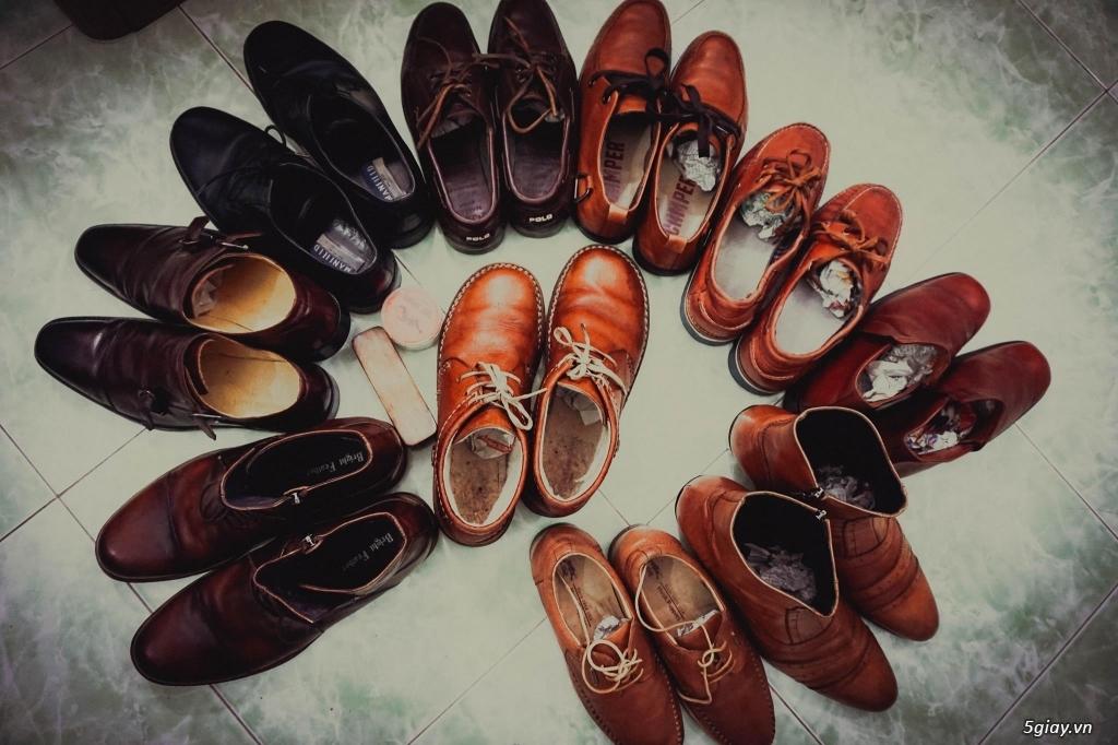 Topic chuyên giày da bò cũ - hàng hiệu - chọn lọc kỹ càng