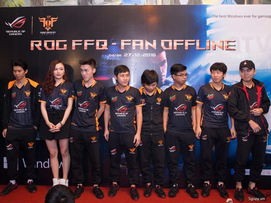 Họp mặt fan và giới thiệu đội tuyển game hợp tác giữa ASUS ROG & QTV - 163235