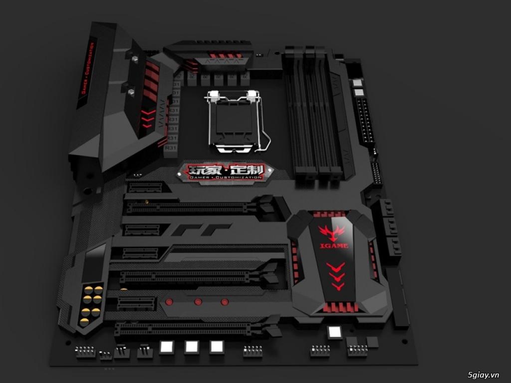 Colorful ra mắt bo mạch chủ igame200 cho nền tảng Intel thế hệ 7 - 163257