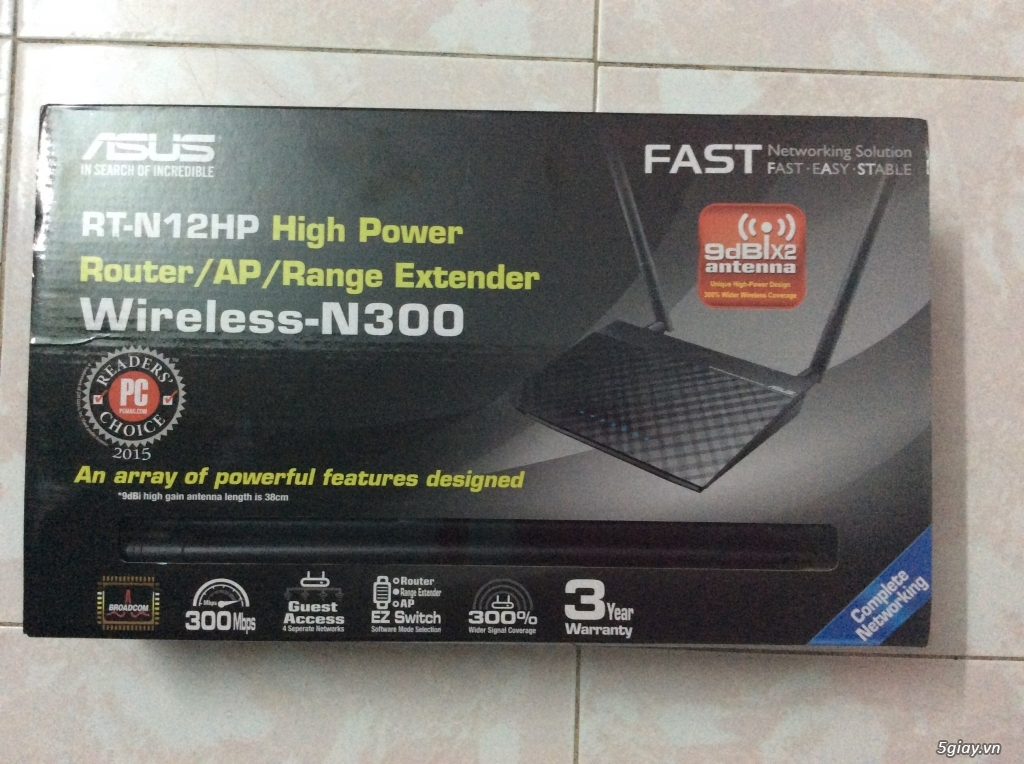 Router Asus RT N12HP - 1