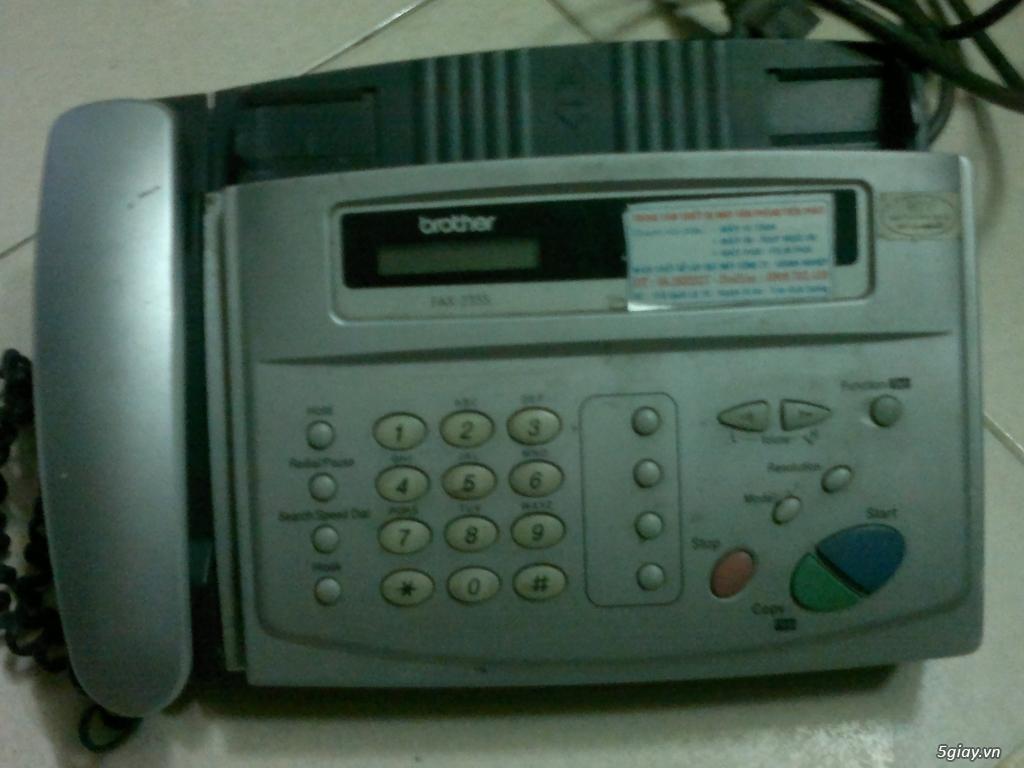 Máy fax panasonic kx ft903, Máy fax Brother 235s - 2