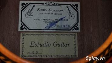 Guitar Kurosawa sản xuất tại Nhật - 29