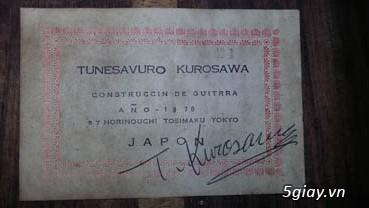 Guitar Kurosawa sản xuất tại Nhật - 17