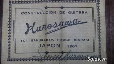 Guitar Kurosawa sản xuất tại Nhật - 20