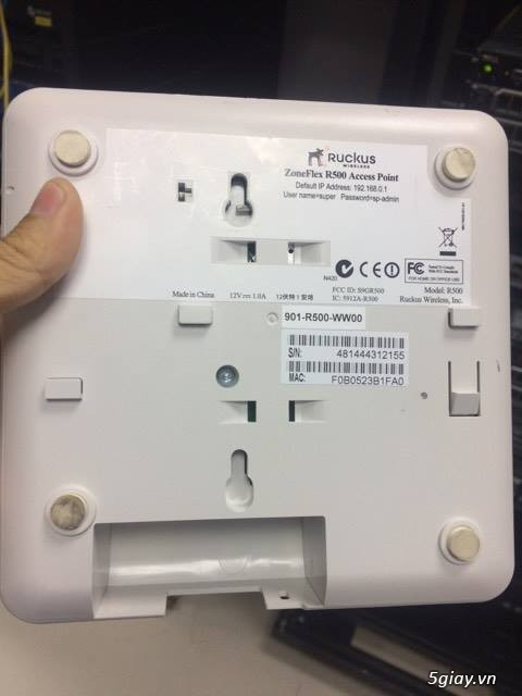Thanh Lý Ruckus Wireless Access Point ZoneFlex R500 - 4
