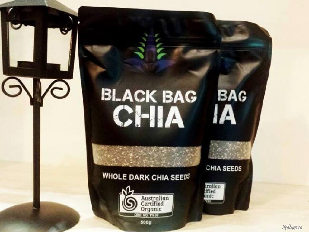 HẠT CHIA BLACK BAG ÚC 500G - 230.000/gói 500g