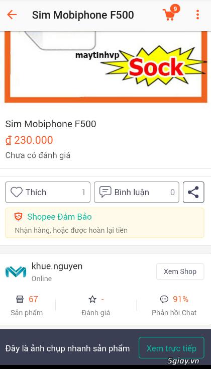 Shop vp.com lừa đảo, ĐT : 0909 829 777 , 08.38631393 , 0908824001 . Blacklist hồi sinh - 2