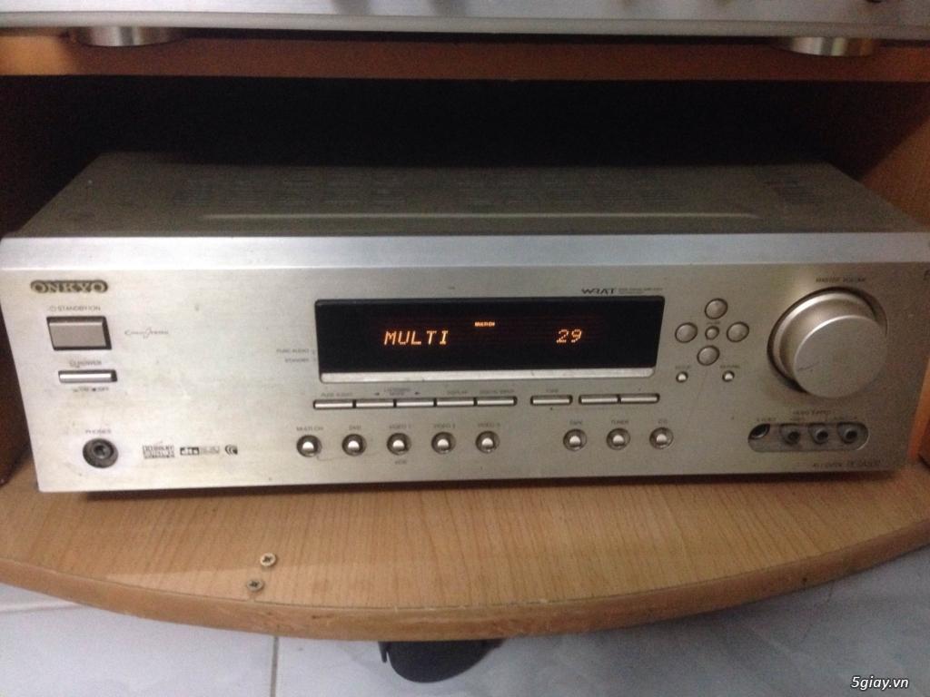 ampli xem phim va nghe nhac onkyo tx sa502 5.1
