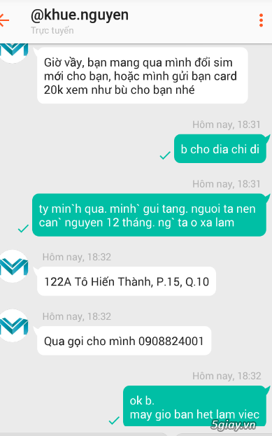 Shop vp.com lừa đảo, ĐT : 0909 829 777 , 08.38631393 , 0908824001 . Blacklist hồi sinh - 1