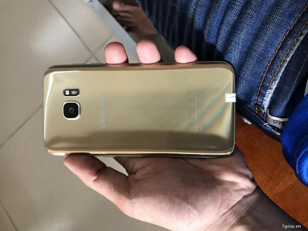Bán samsung s7 edge gold 32GB