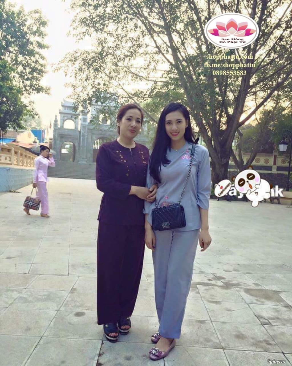 Quần áo phật tử - Áo Lam đi Chùa - 20