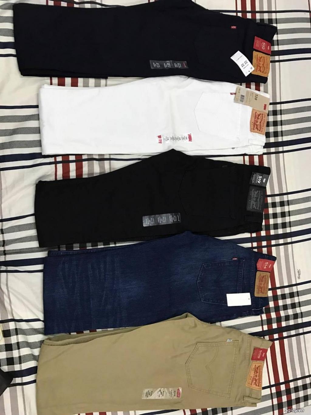 xả hàng quần áo levis chính hãng mới 100% còn tag. giá siêu rẻ - 1