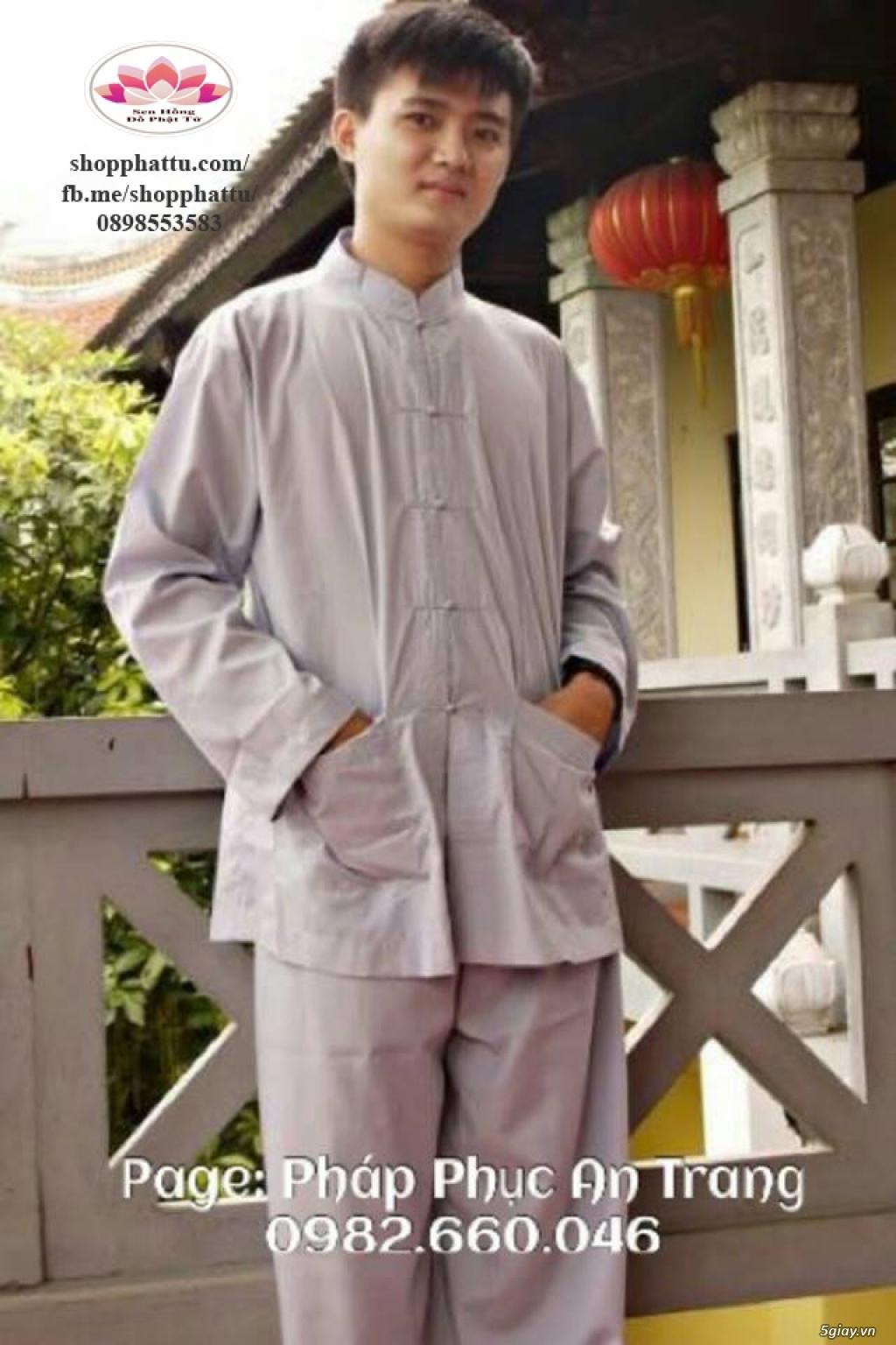 Quần áo phật tử - Áo Lam đi Chùa - 24