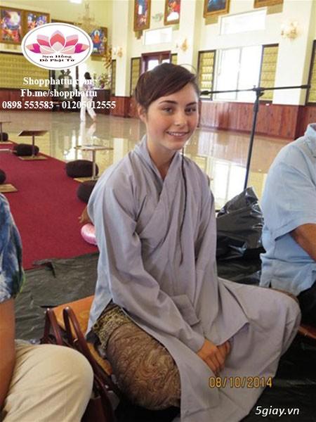 Quần áo phật tử - Áo Lam đi Chùa - 23