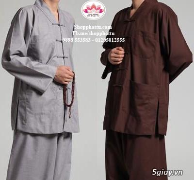 Quần áo phật tử - Áo Lam đi Chùa - 17