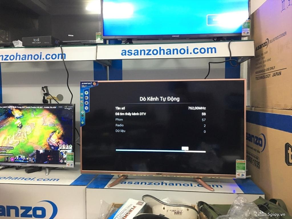 Smart Tivi 43inch 43ES900 Asanzo chính hãng - bảo hành 2 năm