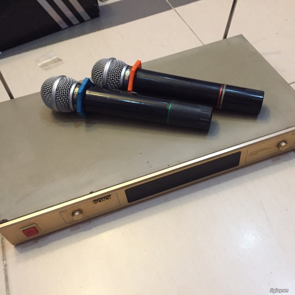 Micro không dây chính hãng sony + cặp loa Scandinavi - 3