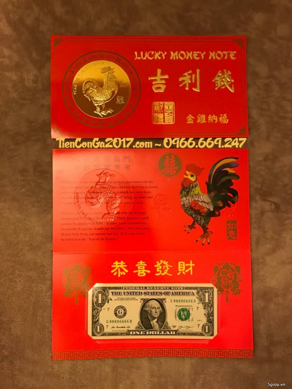 {Giảm Ngay 20%} 1 USD Đinh Dậu, Tứ quý 8888, do Mỹ phát hành = 279k - 2