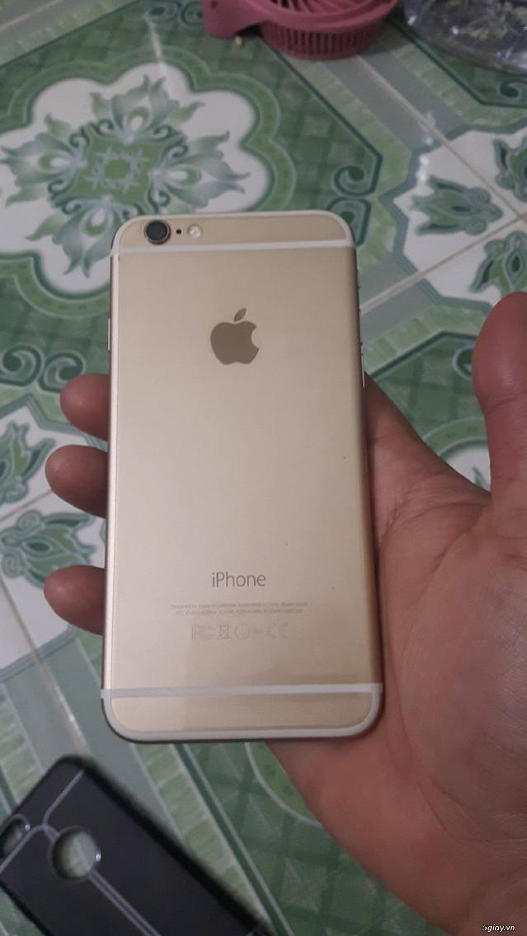 iphone 6 gold 64gb fpt còn bh 2-2017