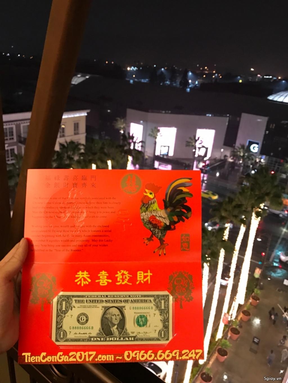{Giảm Ngay 20%} 1 USD Đinh Dậu, Tứ quý 8888, do Mỹ phát hành = 279k - 3