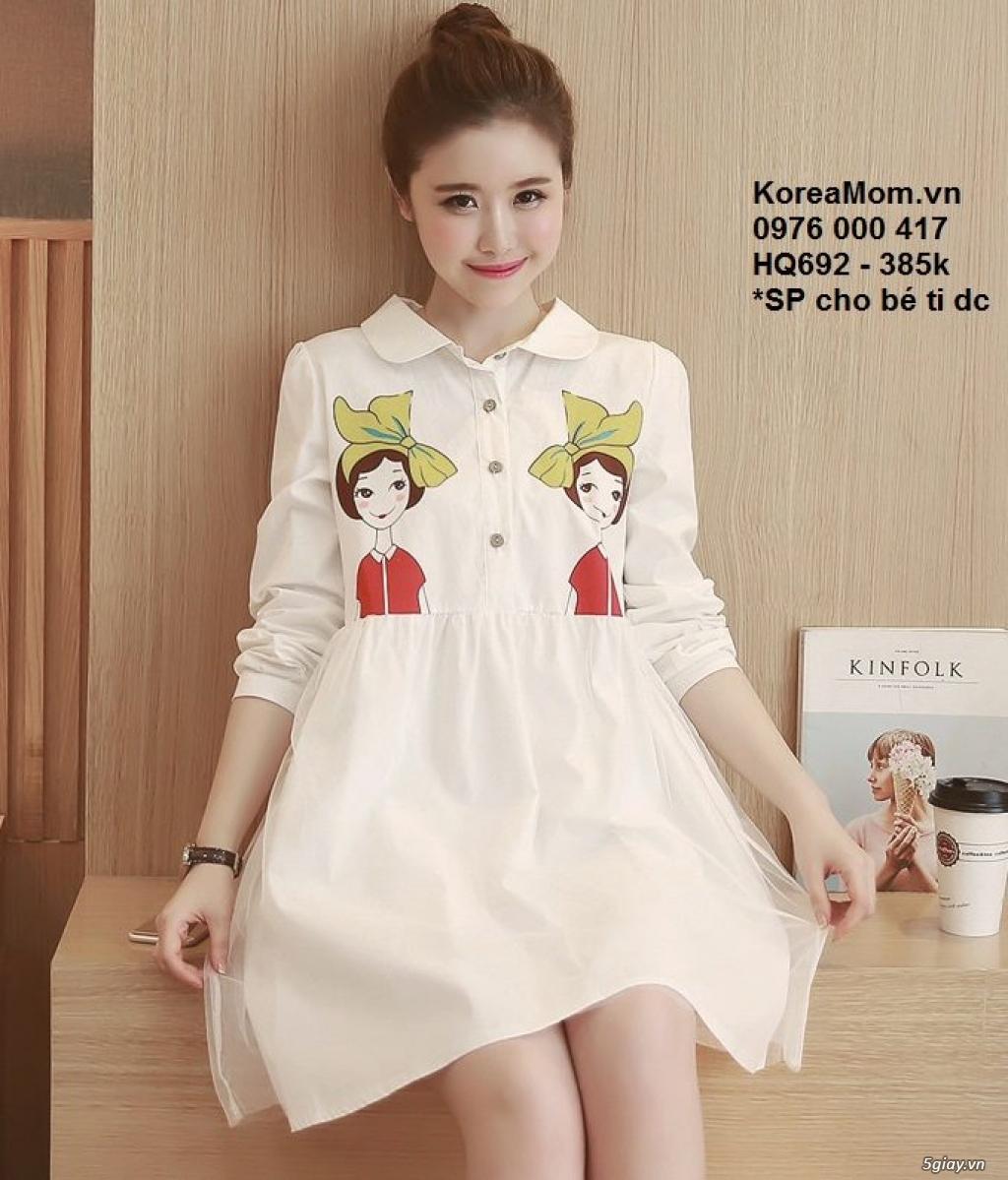 KoreaMom.vn - Đầm bầu thời trang ngoại nhập xinh lung linh - 7