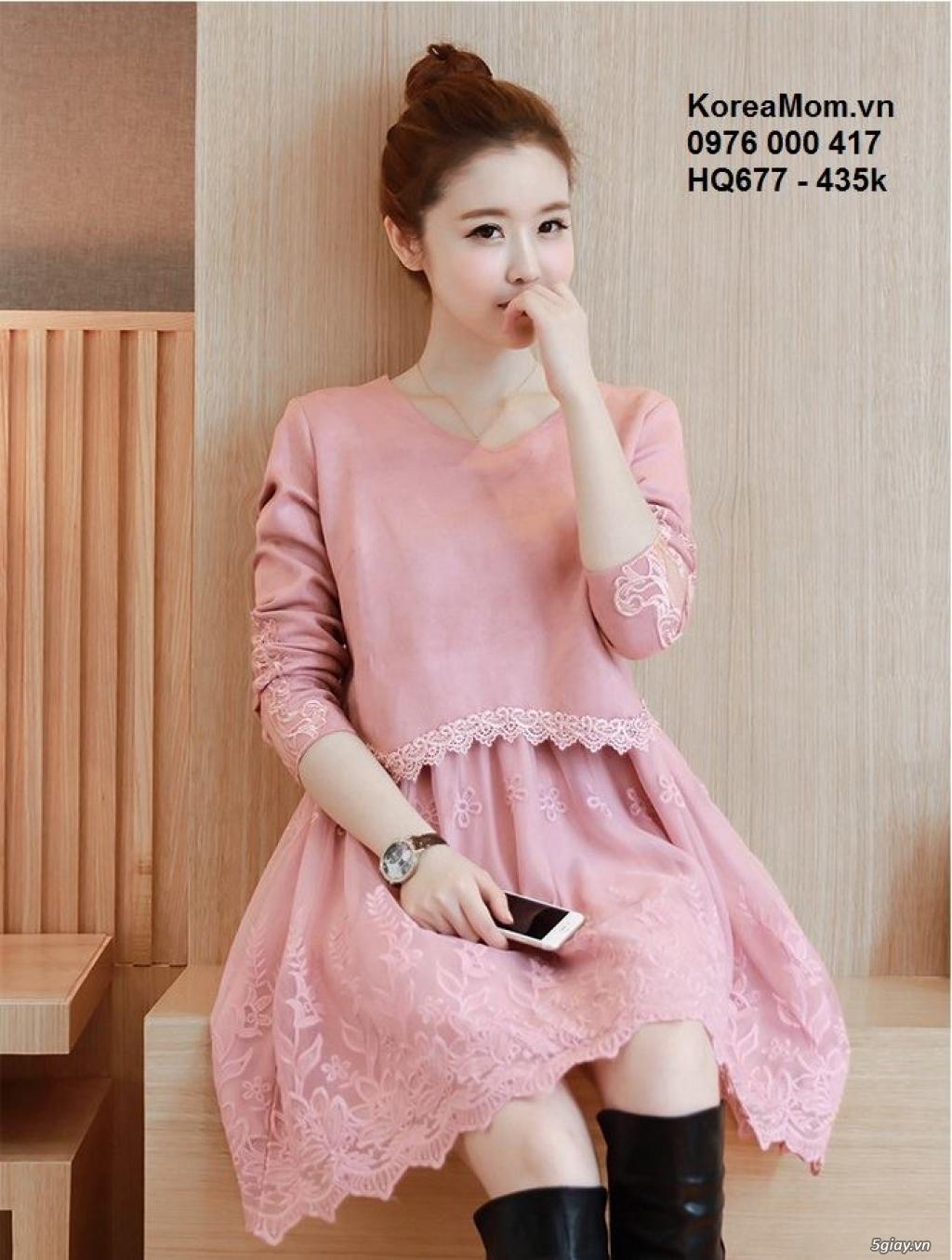 KoreaMom.vn - Đầm bầu thời trang ngoại nhập xinh lung linh - 6