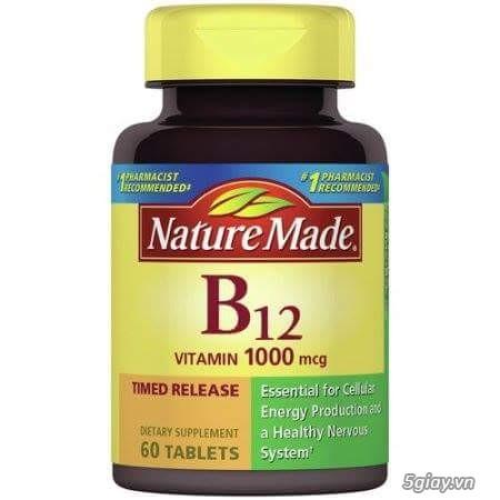 Nature made vitamin b12 100mcg