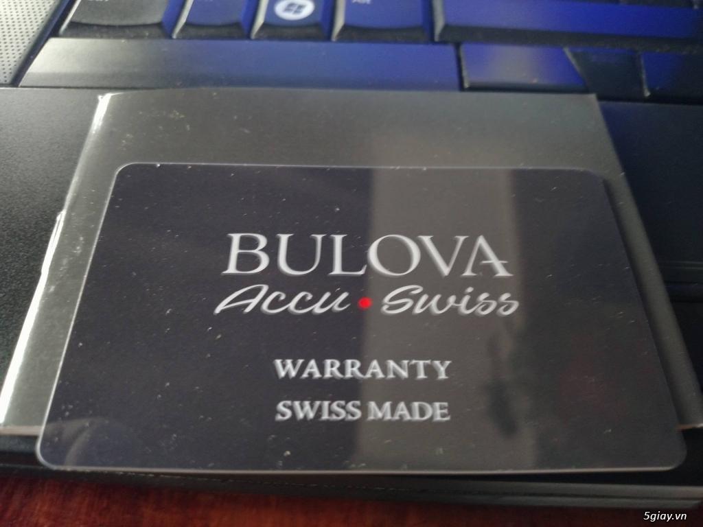 Đồng hồ Bulova 63B185 Thụy Sỹ hàng authentic new
