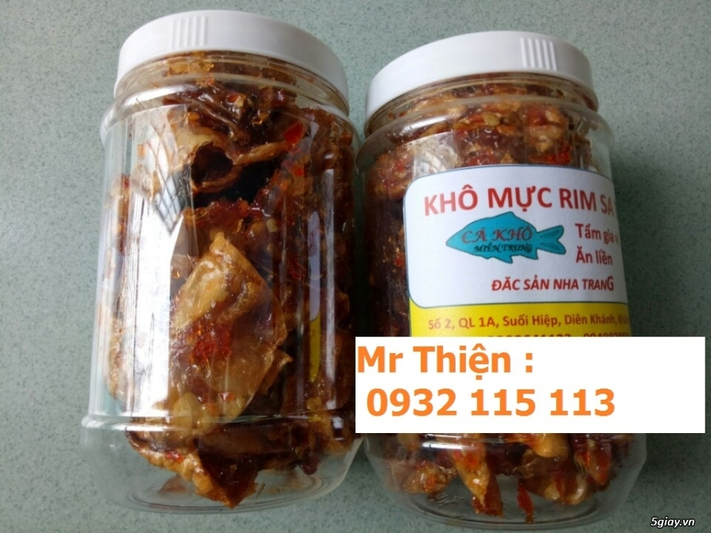 [Sale off 10%] Chuyên khô cá, ghẹ rim Nha Trang - 1