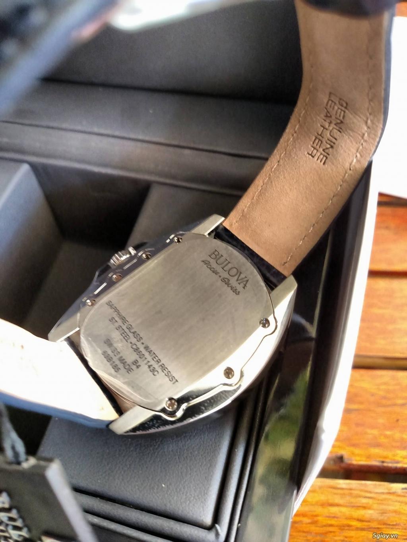 Đồng hồ Bulova 63B185 Thụy Sỹ hàng authentic new - 1