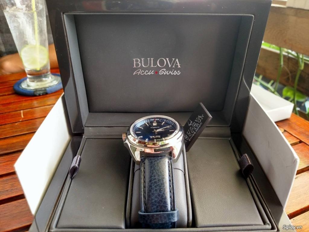 Đồng hồ Bulova 63B185 Thụy Sỹ hàng authentic new - 3