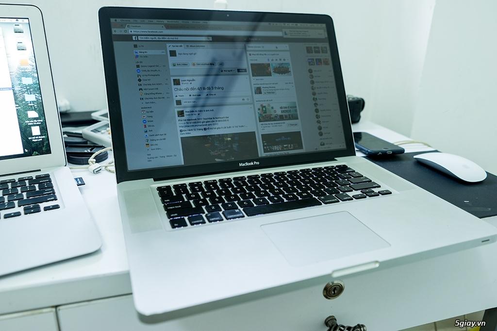 Cần bán macbook pro 15.4 inch mid 2009 giá 6,1tr
