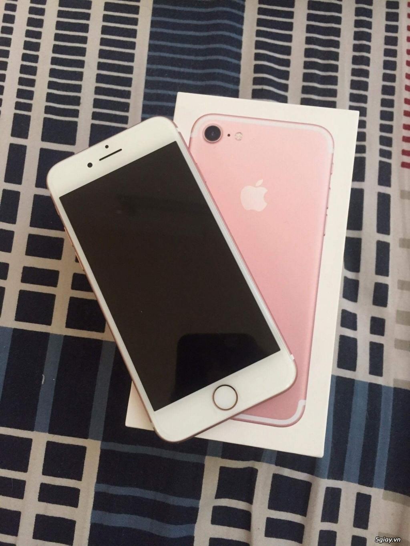 Iphone7 rose gold 128gb qte mới 100%
