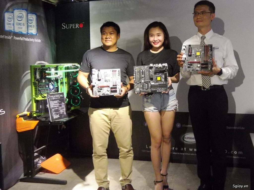 Ra mắt bo mạch chủ SUPERO dành cho game thủ tại Việt Nam