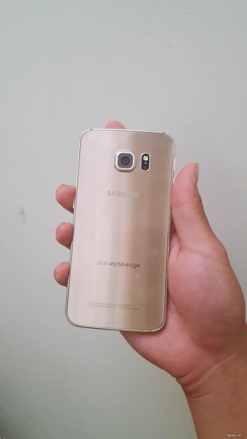 [HCM] Bán  em Galaxy S6 Edge 64gb Unlock (97%) - 2