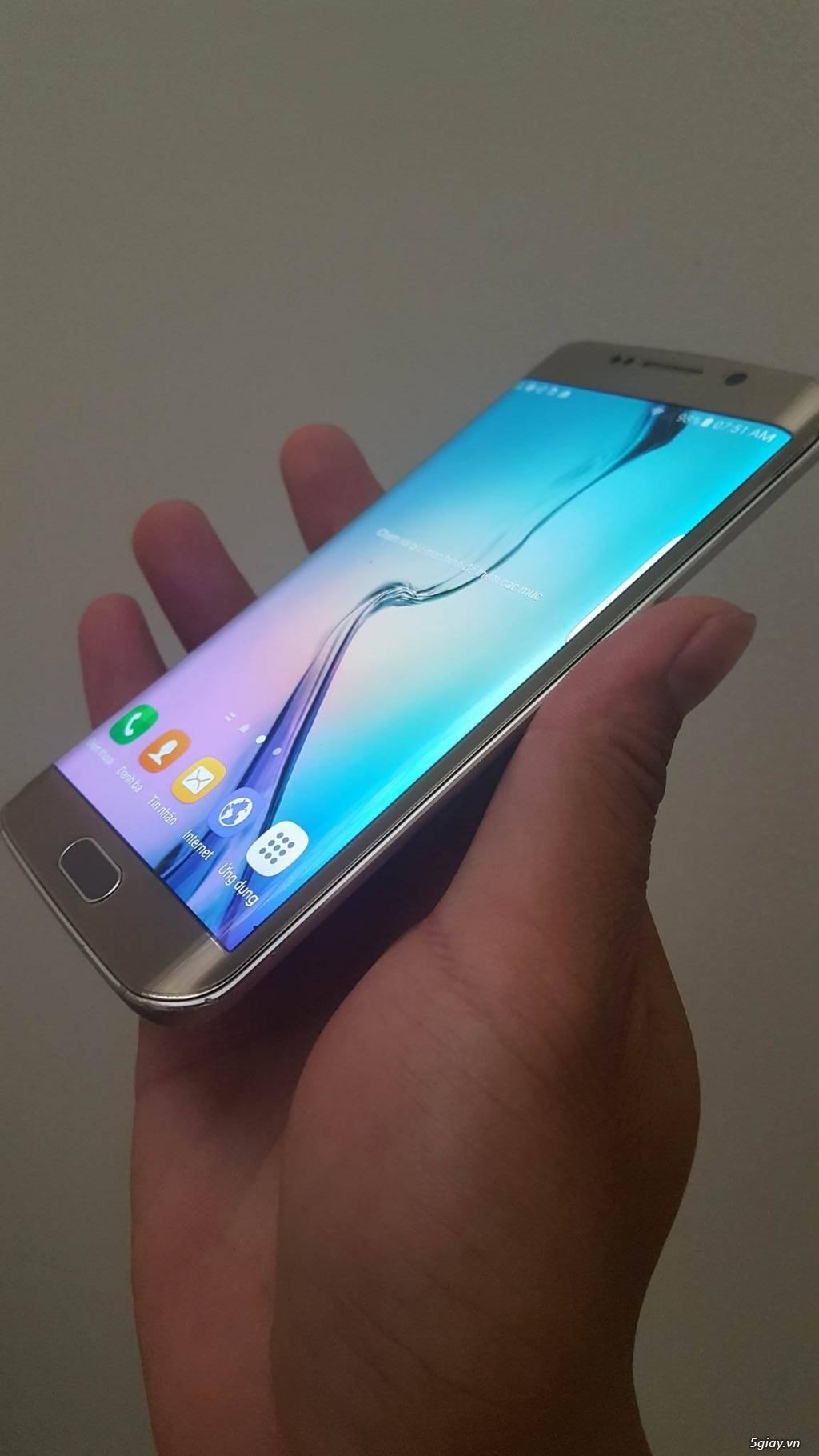 [HCM] Bán  em Galaxy S6 Edge 64gb Unlock (97%) - 3