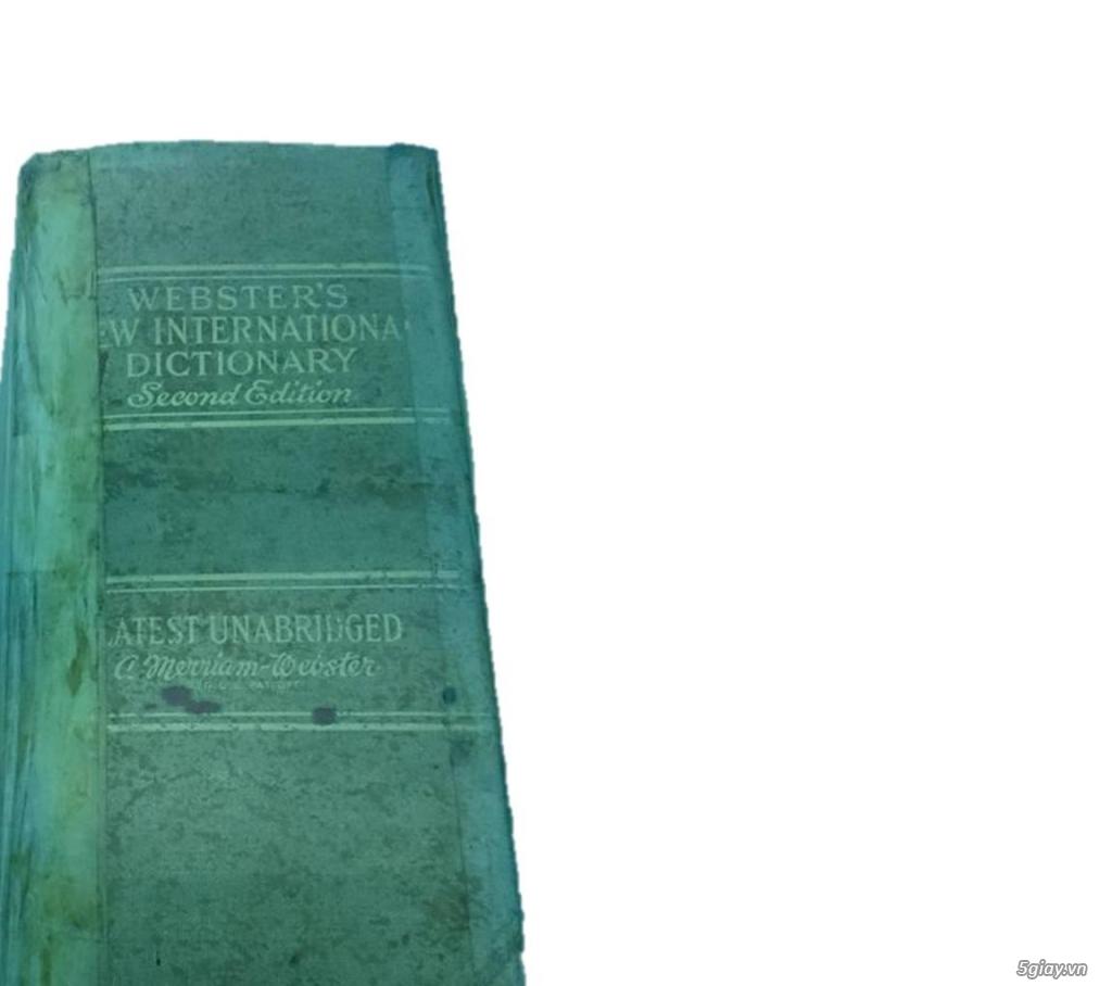 Bán từ điển Webster's nặng 5kg - 1,5 triệu