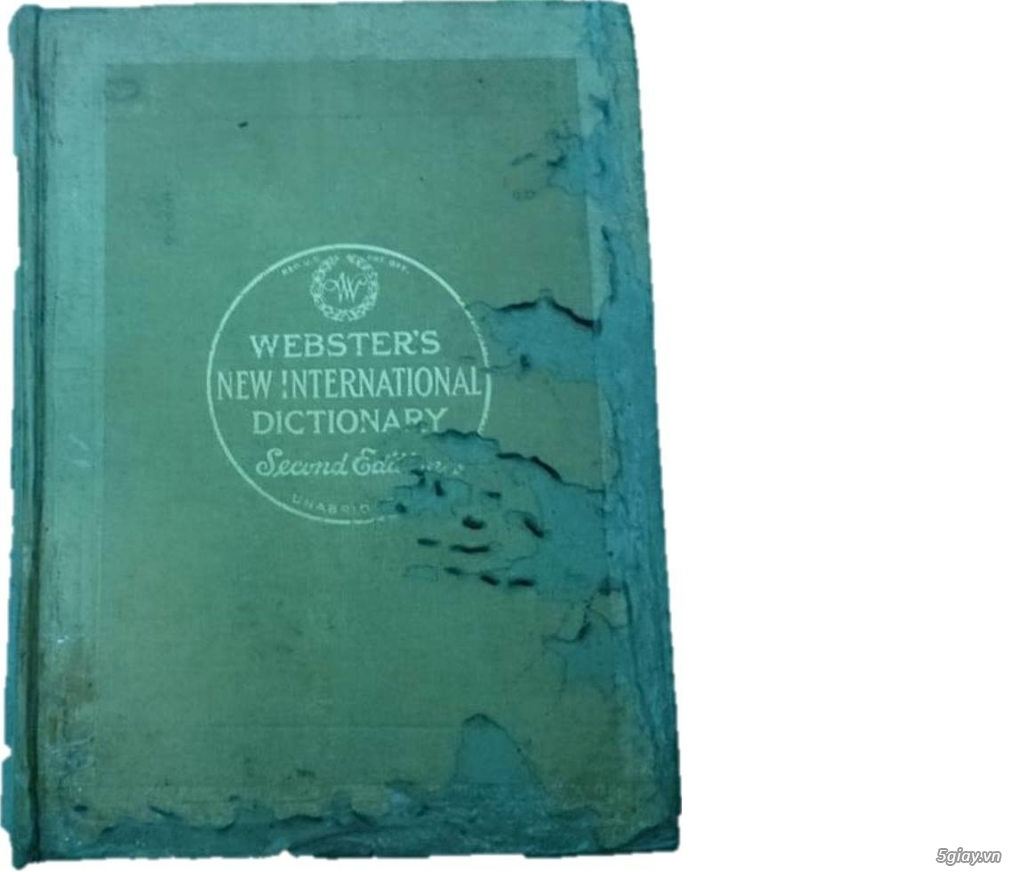 Bán từ điển Webster's nặng 5kg - 1,5 triệu - 4