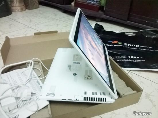 Laptop cảm ứng 2 trong 1 acer aspire r3 471t 3360 màu trắng - 1