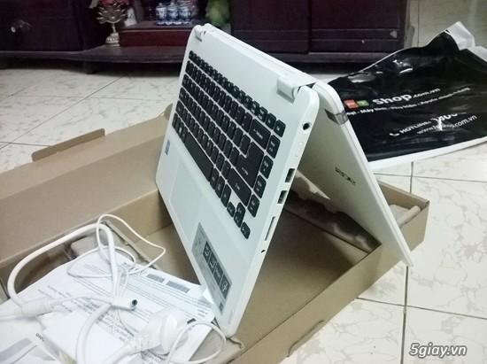 Laptop cảm ứng 2 trong 1 acer aspire r3 471t 3360 màu trắng - 3