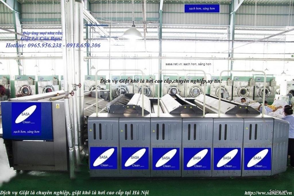 Giặt là cao cấp tại Hà Nội - SASA Clean – SASA Thăng Long - 3