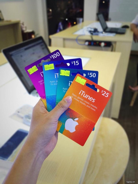 Gift Itunes Card MỸ sd mua+ chơi Game và nâng cấp bộ nhớ Icloud cực rẽ - 4