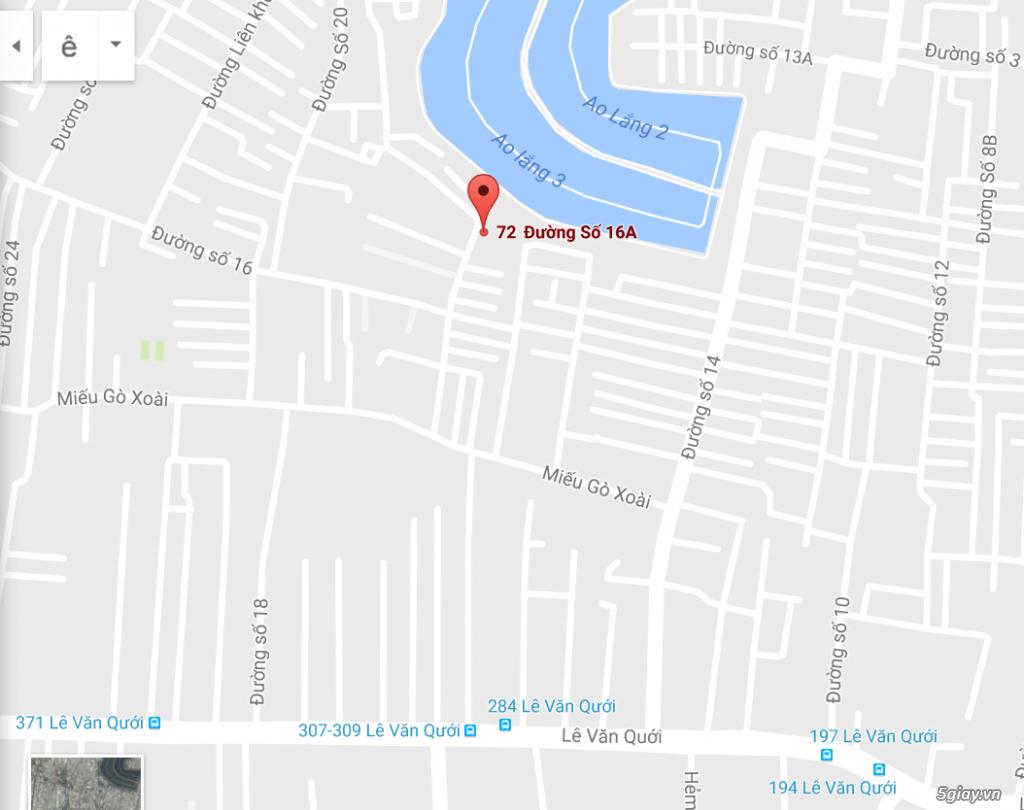 Cần bán nhà 2 mặt tiền đường 4m và 6m gần chợ Lê Văn Quới, quận Bình Thạnh