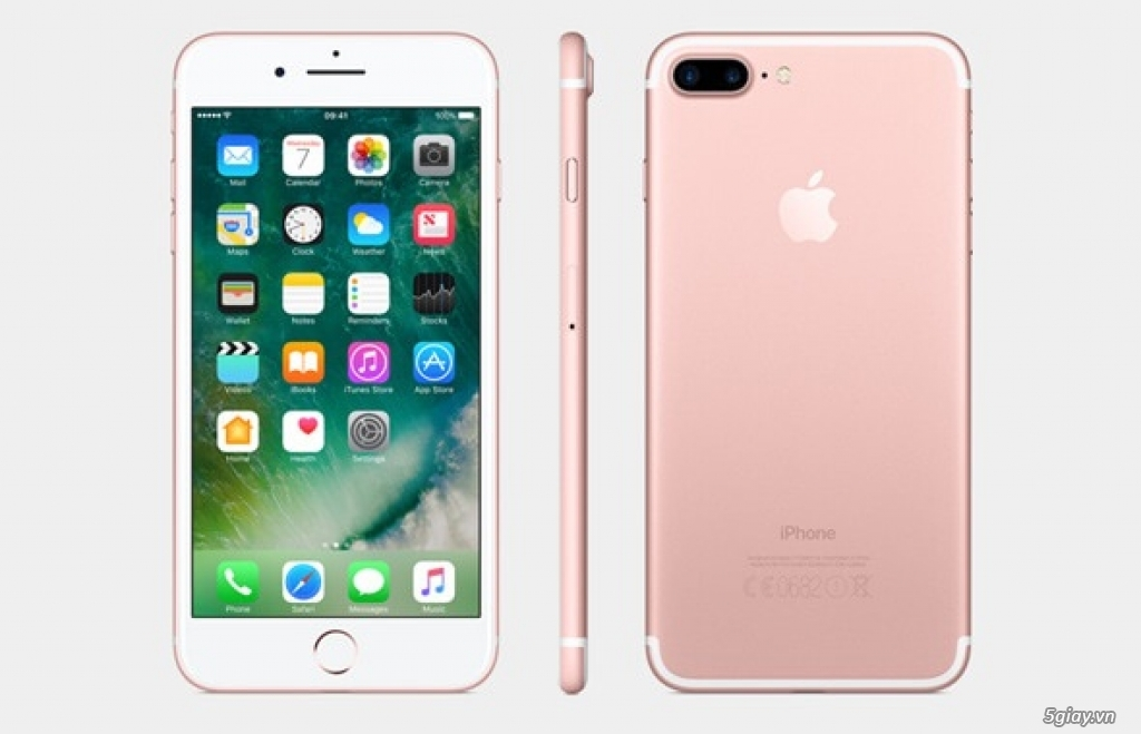 Iphone 7 plus hồng chính hãng giá ưu đãi