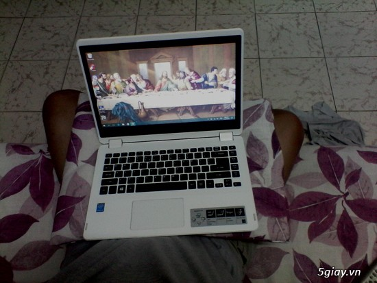 Laptop cảm ứng 2 trong 1 acer aspire r3 471t 3360 màu trắng