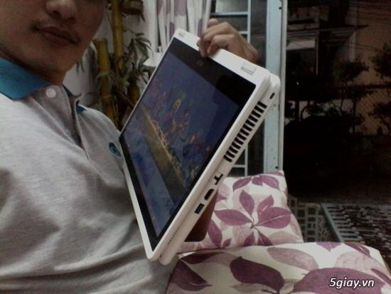 Laptop cảm ứng 2 trong 1 acer aspire r3 471t 3360 màu trắng - 2