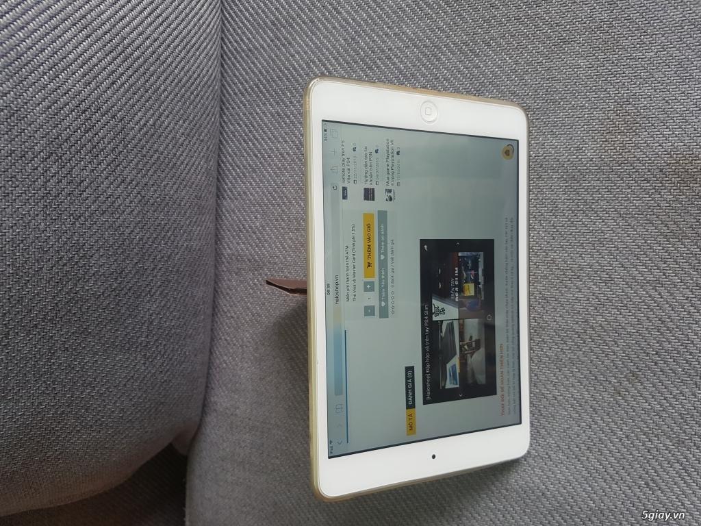 Ipad mini 2 4G 16GB màu trắng giá rẽ - 3