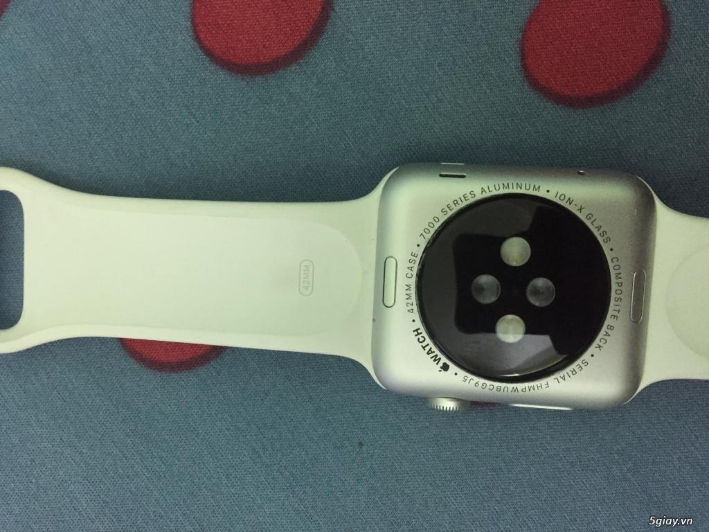 Bán apple watch 42mm aluminum black