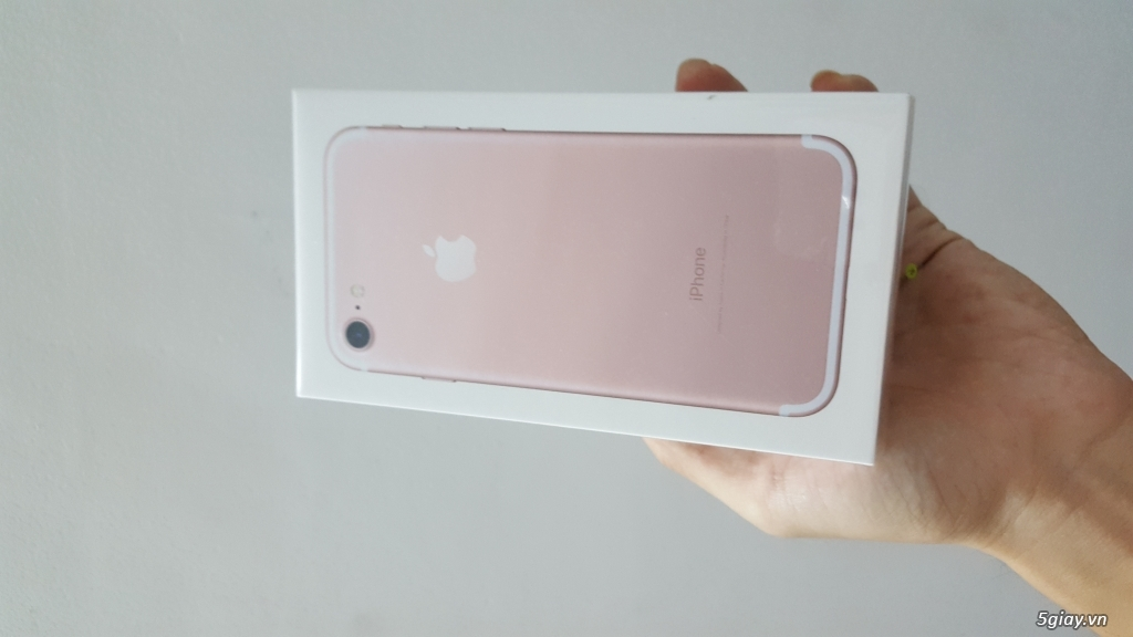 IPHONE 7 ROSE GOLD 32GB XÁCH TAY